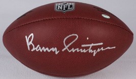 Barry Switzer Signed Full Size NFL Football SS Signing Cowboys Oklahoma - $112.19