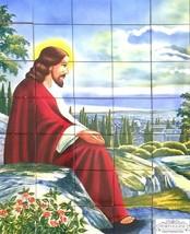 CHRIST Religious Hand Painted Ceramic Tiles Portuguese Panel Backsplash ... - $1,371.15