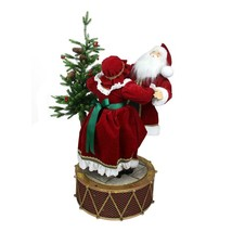 "Northlight 32"" Musical LED Rotating Santa Mrs Claus Christmas Decor - $176.95"