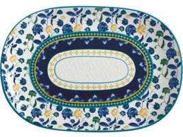 maxwell and williams Rhapsody Oblong Platter 40x28cm Blue Gift Boxed - $270.00