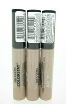 Revlon ColorStay Full Coverage Concealer Lot of 3 #022 Sand Sealed - $15.99
