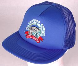 Vtg CAMPBELL RIVER Hat-Salmon Capital of World-Snapback-Mesh-Blue-Trucke... - $24.30
