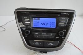 2011-2013 Hyundai Elantra Radio Cd Player Oem Radio 96170-3X165RA5 Testd C54#014 - $30.69