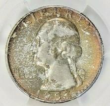 1957-D WASHINGTON QUARTER PCGS MS65 BU TONED COIN IN HIGH GRADE - $47.51