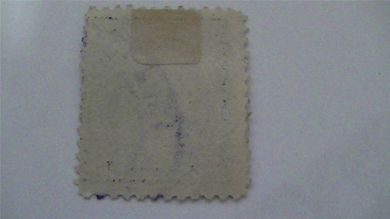 Vintage Gray USA Used 15 Cent Stamp