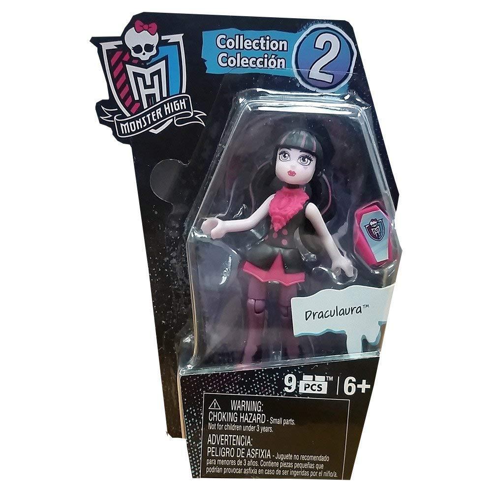 NIP Monster High Mega Bloks Ghouls Mini figures DRACULAURA-MORE MONSTER HIGH Too