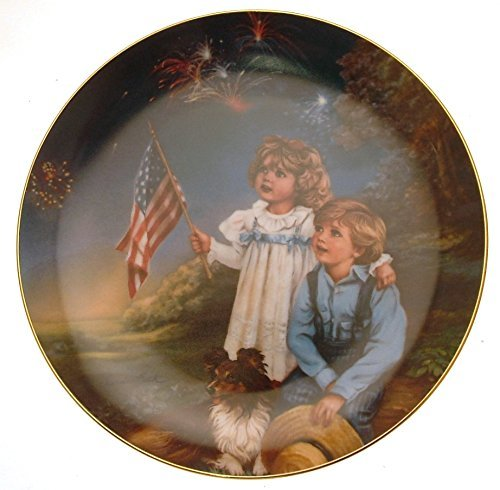 Reco Star Spangled Sky A Childhood Almanac July by Sandra Kuck HJ243 - $38.21