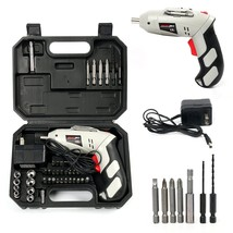 Yaetek 45 in 1 Portable Cordless Drill Driver, Rechargeable Electric Scr... - $36.11