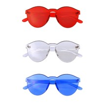 Bundle Of Sunglasses In Bundles 3 Pairs Of Rimless Mens Womens Sun Glass... - $23.70