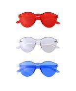 Bundle Of Sunglasses In Bundles 3 Pairs Of Rimless Mens Womens Sun Glass... - $23.70