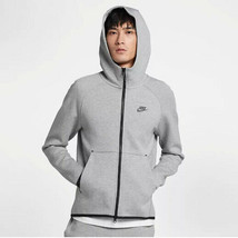 Nike Men's Tech Fleece Full-Zip Hoodie NEW AUTHENTIC Grey 928483-063 - $109.49