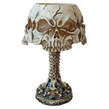 Ossuary Skull LED Mini Night Lamp Color Changing Desktop Halloween Decor - $597,66 MXN