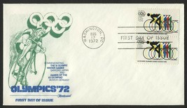 #1460 6c Cycling, Fleetwood-Addressed Fdc **Any 4=FREE Shipping** - $1.00