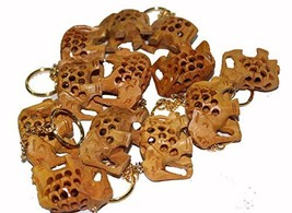 Wooden Elephant Keychain 12 Pieces - $21.77