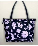 Kate Spade NY Watson Lane Small Maya Tote Handbag Parisian Floral Navy B... - $109.95