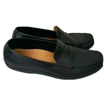 Cole Haan Casual Mens Loafers Shoes Black Leather Size 9.5 M - $39.30