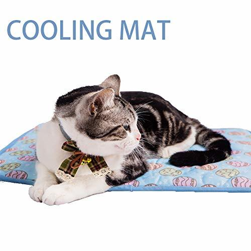 Primary image for NACOCO Pet Cooling Mat Cat Dog Cushion Pad Summer Cool Down Comfortable Soft for