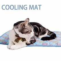 NACOCO Pet Cooling Mat Cat Dog Cushion Pad Summer Cool Down Comfortable ... - $15.83