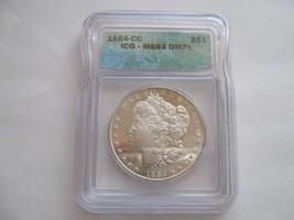 1884-CC , Morgan Dollar , MS 63 , DMPL , ICG Certified - $495.00