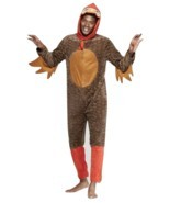 Turkey Costume Adult Funny Halloween Thanksgiving Fancy Dress Unionsuit ... - £31.15 GBP