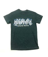 HAWAII Script Island Honu Shirt Size S Small Short Sleeve Sea Turtles Ad... - $11.11