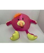 Brentwood Moshi microbead nylon spandex pink flamingo orange bird plush ... - $12.86