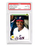 Sammy Sosa 1990 Upper Deck Baseball #17 RC Rookie Card PSA 10 (Silver Label) - $147.51
