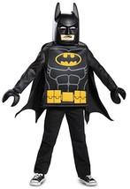 LEGO Batman Movie BATMAN Tunic & Mask Costume - Boys Medium (7/8) - $24.94