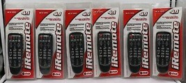 Lot 6 pack Nippon iRemote 4 in 1 UNIVERSAL Palm Sized Remote Control BUL... - $88.97