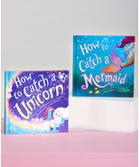 Childrens Hard Cover Books Set of 2 How to Catch a Unicorn and Catch a M... - $29.95
