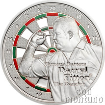 "DARRYL FITTON ""The Dazzler"" - Famous Darters Coin Series - 2014 Cook Isl... - $29.90"