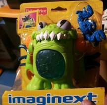 "Imaginext Fisher Price Deluxe Green Space Alien 5"" Figure Man Eating Mon... - $35.99"