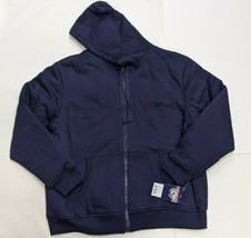 NWT US Life Men's Sherpa Lined Hoodie, Navy Blue, Size (2XL) - $28.70