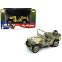 1941 Willys MB Jeep WWII Army Medic (15th Evacuation Hospital) Camouflag... - $57.35
