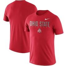 Ohio State Buckeyes Mens Nike Dri-Fit Cotton Facility T-Shirt - Large - NWT - $21.21