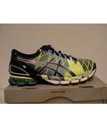 Asics Gel Kinsei 5 Chaussures Course Flash Jaune/Bleu Taille 7 US Hommes... - $146.87