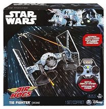 STAR WARS AIR HOGS TIE FIGHTER DRONE WITH REMOTE CONTROL - $35.00