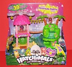 Hatchimals Colleggtibles Tropical Party Playset & Exclusive Figures NEW - $19.94