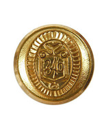 "Brooks Brothers ""346""  Metal Main Front Replacement Button .75"" - $8.86"