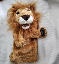 """Folkmanis Lion Stage Hand Puppet Plush Realistic 14"""" Stuffed Animal Toy - $21.77"""