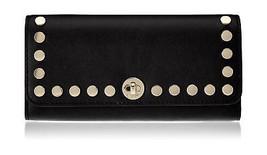 Michael Kors 32S7GR7F1L Womens Rivington Stud Satchel Black (Black) - $269.71