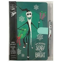 Nightmare Before Christmas Journal & Pen Set Scarey & Bright New - $19.77