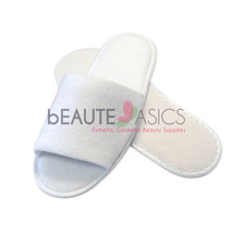 6 Pairs Disposable Spa Slippers Hotel Slippers Open Toe - #AS128x6 - $12.98