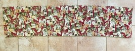 """Valance Wine Grapes Bistro Cafe Restaurant by Springs 60"""" x 13"""" Free Shi... - $15.99"""