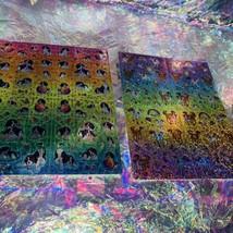 Full Prism Lisa Frank Sticker Sheets S738 S731 Violet Lollipop Rainbow Chaser image 2