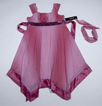 MY MICHELLE NWT GIRLS 16  PINK DRESS ELEGANT SPECIAL OCCASION PORTRAIT S... - $22.76