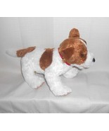 Build A Bear Dog Jack Russell Terrier 11 inch Stuffed Plush Toy Animal - $12.85