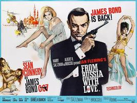 From Russia With Love - James Bond - 1964 - Movie Poster - $9.99+