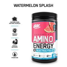 Optimum Nutrition Amino Energy + Electrolytes, Watermelon Splash, 30 Ser... - $90.58