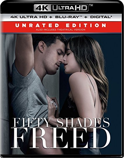 Fifty Shades Freed Unrated Edition [4K Ultra HD+Blu-ray+Digital]